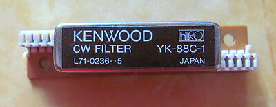 Kenwood 500Hz CW crystal filter YK-88C-1 made by HRO