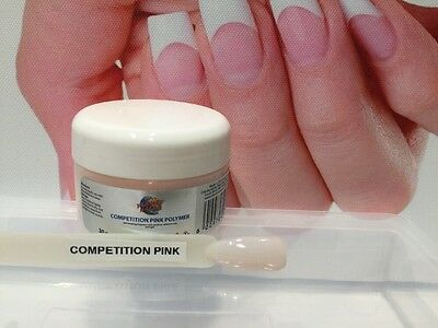 NAIL DIPPING POWDER: SNS Compatible COMPETITION PINK 30gm