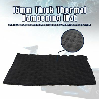 """Noise Sound Deadener Proof Proofing Mat 90""""x39"""" backed adhesive ceiling 25sqft"""