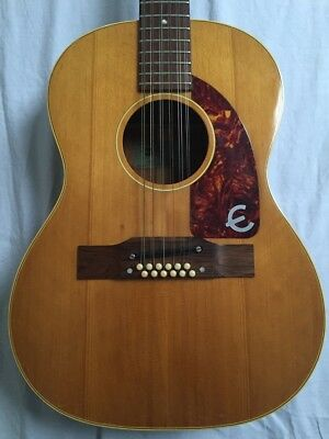 Vintage 1964 Epiphone FT85 12 string Gibson USA Kalamazoo made acoustic guitar!