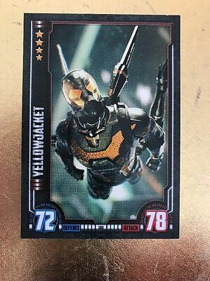 Hero Attax 2016-Marvel Cinematic Universe #190 Yellowjacket