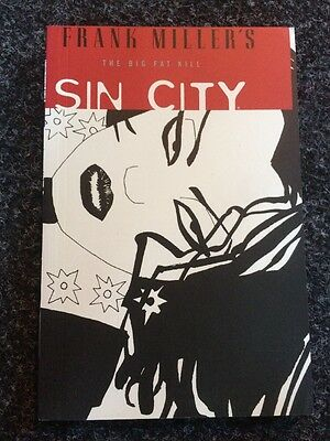 Sin City Graphic Novel Book Volume Three The Big Fat Kill - Miller Comics Vol 2