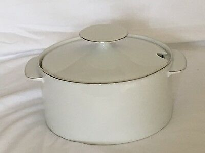 THOMAS MEDAILLION: Thin Platinum: SOUP TUREEN: Rare And Perfect