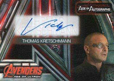 2015 Marvel Avengers Age of Ultron; Thomas Kretchmann as Baron Strucker AA-TR