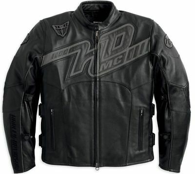 lederjacke harley davidson motorradjacke gr l eur 190. Black Bedroom Furniture Sets. Home Design Ideas
