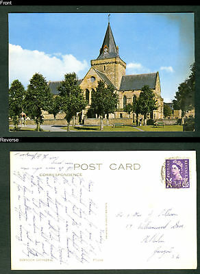 Dornoch Cathedral, Scotland. Used postcard