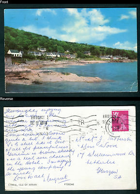 Corrie, Isle of Arran, Scotland. Sent 1973
