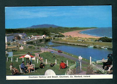Courtown Harbour & Beach, Co Wexford, Ireland. Cardall postcard. Uncirculated