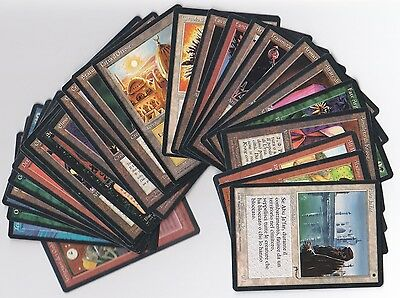 MTG 1x Italian RENAISSANCE complete set, 69 cards, NM/MINT, City, Mine, Mishra