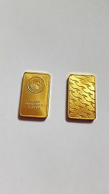 Gold Clad&Plated Bars Ancient Wonder Antique Commemorative Old Culture bars