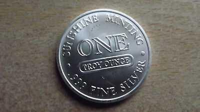 Silver Eagle, Sunshine Minting, One Troy Ounce .999 Fine Silver