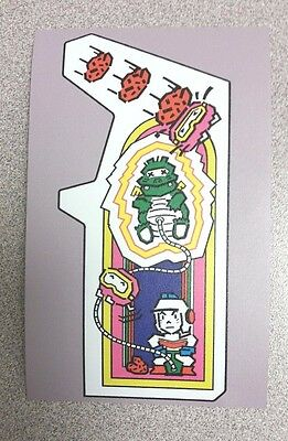 Dig Dug cabinet art sticker. 3.25 x 5. (Buy any 3 of my stickers, GET ONE FREE!)