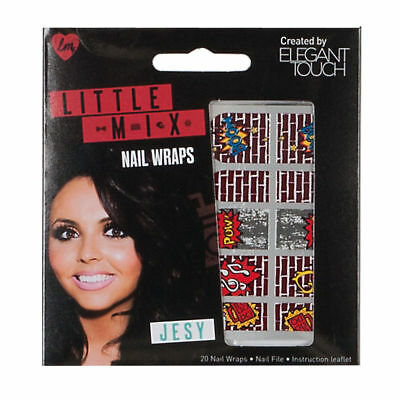 Little Mix by ELEGANT TOUCH 20 nail wraps by Jesy