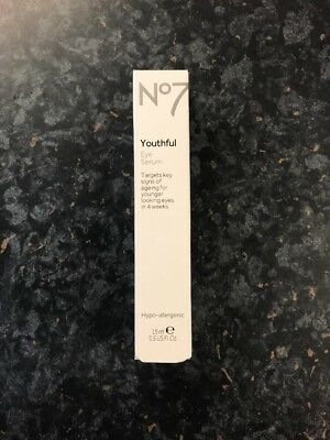 No7 Youthful Eye Serum 15ml.