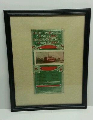Cleveland Painesville and Eastern Railroad 1907 Timetable Cover