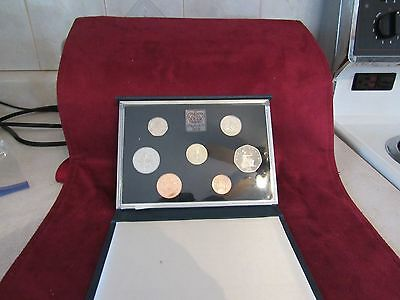 1985 United Kingdom Proof Coin Collection  W/coa