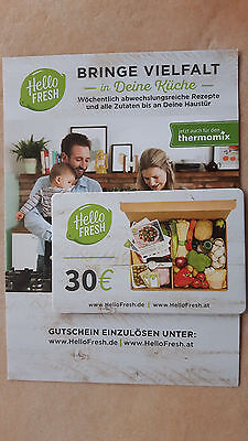 30.- Euro Gutschein - Hello Fresh.de / at