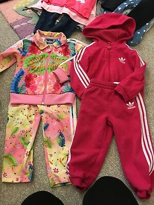 Infant Girls Adidas Track suits 18-24 Months