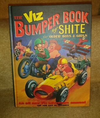 Viz Bumper Book of Shite for Boys and Girls Perfect condition