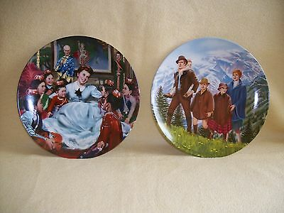 Knowles - The Sound of Music  &  The King And I,   Commemorative Plates  VGC