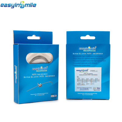 10packs Upper+10pack Lower Arch Wires Easyinsmile Orthodontic NITI Wire Size 014