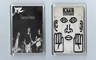 Magnets x 2 : XTC Science Friction / Senses Working Overtime PUNK