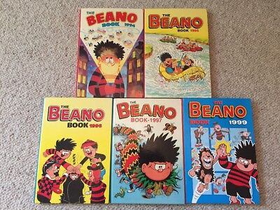 The Beano Book - 5 editions