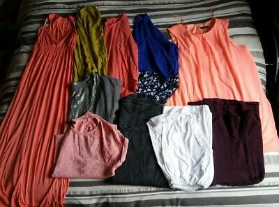 Ladies Bundle Of Clothes - 10x Items - 16 / 18 / 20