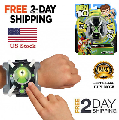 NEW Ben 10 Ten Omnitrix Watch Toy Roll Play Alien Hero Hex Diamondhead Four Arm