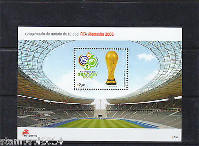 Portugal S/s  Germany Fifa Word Cup 2006   Mnh
