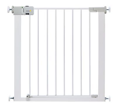 Safety 1st Secure Tech Simply Close Child Baby Metal Gate White Two Way Opening