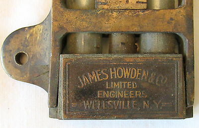 James Howden & Co. Wellsville, NY instrument u-tube pressure Air Preheater