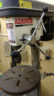 Drill Press floor standing 240v with variable speeds and cast table.