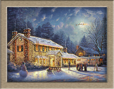 """Oil Painting Canvas Print / Modern National Lampoon's Christmas Vacation18""""x24"""""""