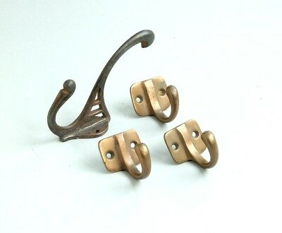 Arts & Crafts hooks - copper