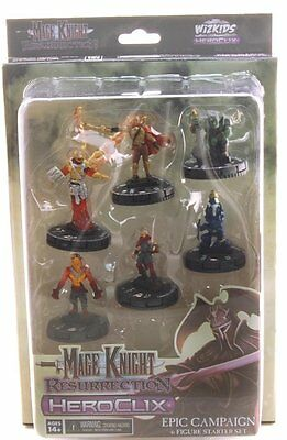 Mage Knight Resurrection: Epic Campaign: 6 Figure Starter Set