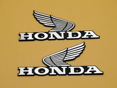 Metal Gas Tank Badge Emblem for Honda Nighthawk Wings Motorcycle Left /Right Set