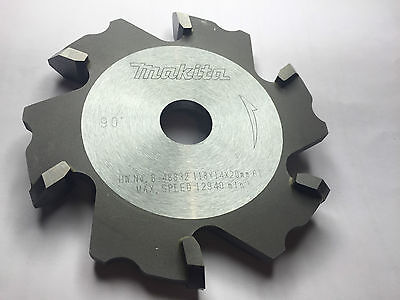 Makita B48832-90 Degree V Groove 118x20mm MAKITA  MILLING CUTTER CA5000