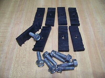 LinKlip Chain Link Fence Easy Sign Mounting Fastener Clip; 8-Pack (USED)