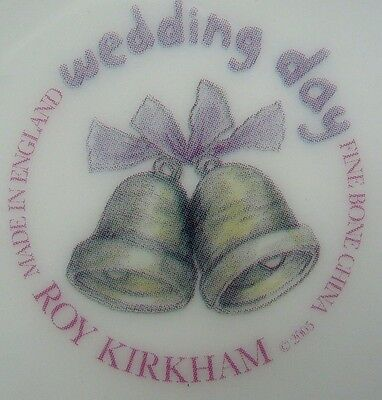 "Roy Kirkham Bone China ""Wedding Day"" Large Tea Set Breakfast Cup & Saucer"