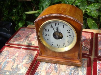 Vintage Electric  French Bulle Electro - Magnetic 800 Day Mantle Clock
