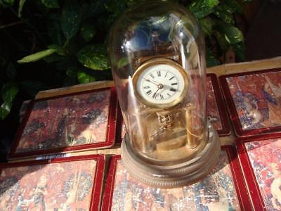 Vintage 400 Day ./ Anniversary / torsion dome Clock Mantle Clock For Restoration