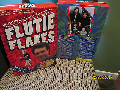 SET OF TWO Doug Flutie Flakes Red Limited Edition ORIGINAL BOX NEVER OPENED