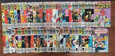 Power Man & Iron Fist #(67-125) 1981-1986 (LOT OF 59 ISSUES) *PRICE REDUCED*