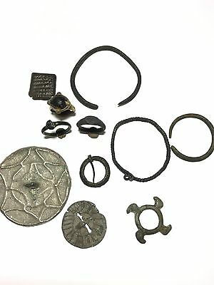 beautiful ancient jewelry of nomadic Khazar tribes of the 4th-6th centuries