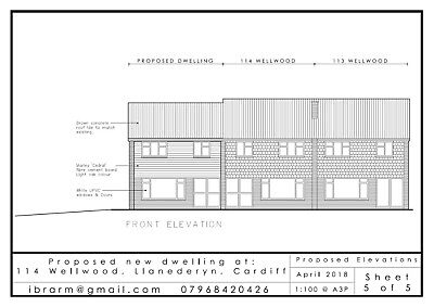 Architectural Plans - Planning permission - Drawing services - Cad