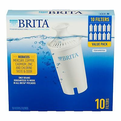 Brita Pitcher Replacement Filters pack of 10