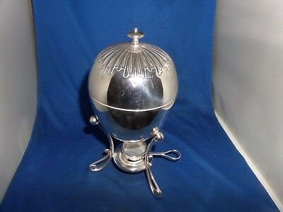 Lovely Victorian  Egg Coddler Set C.1890 Thomas Lathom & Morton Silver Plate