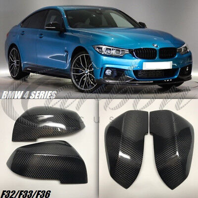 Bmw 4 Series Real Carbon Fibre Wing Mirror Covers F32/F33/F36 - 2013 - 2017