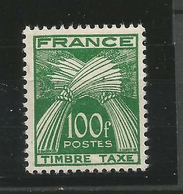 Timbres France Taxe N°89 Neuf**. Cote 87 € !!!!